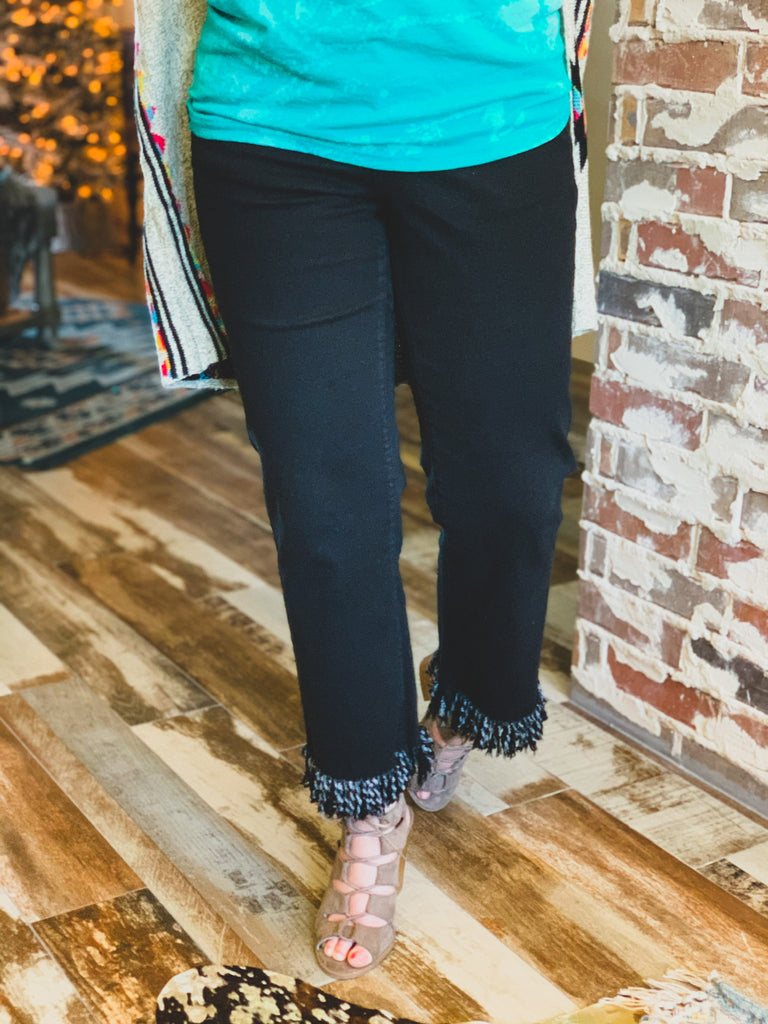 The Fort Stockton Pants in Black (4-22)