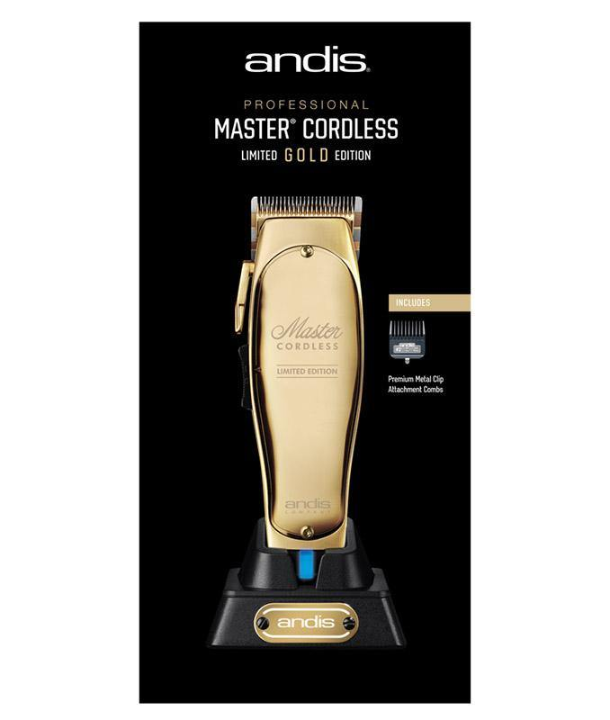 Master Cordless Limited Edition Gold Clipper