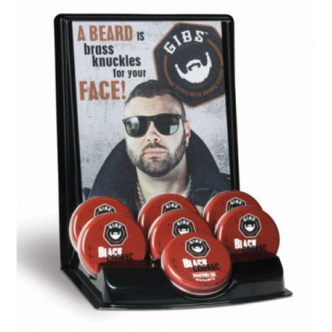 GIBS Beard Balm Display 6pcs
