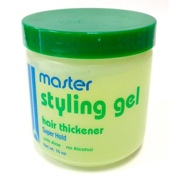Master Well Styler Gel Hair Thickener 16oz