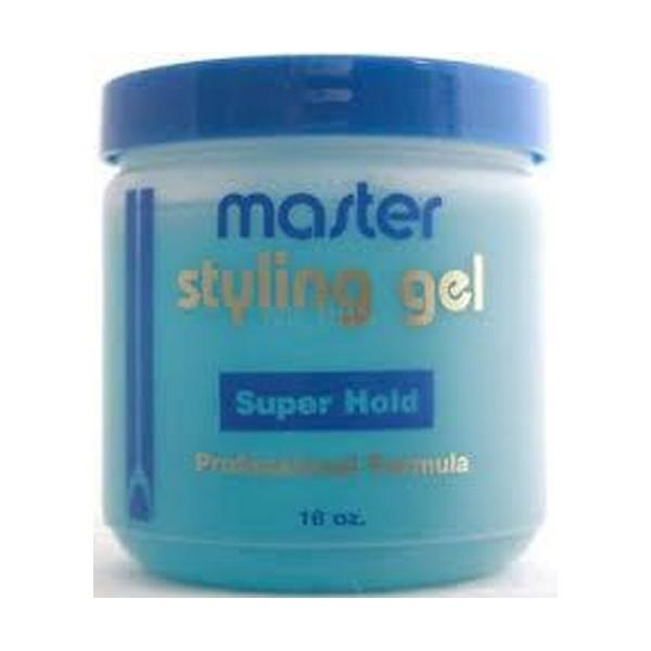 Master Well Super Hold Gel- Professional Formula 16oz
