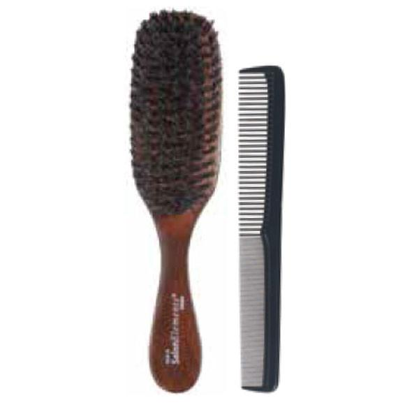 "Salon Elements Soft Wave Brush & 7"" Comb"