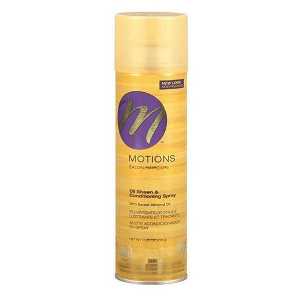Motions Salon Haircare Oil Sheen & Conditiong Spray