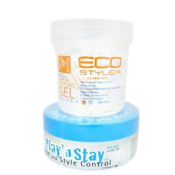 ECO Styler Krystal Clear Gel with a FREE Pure Play & Stay Gel