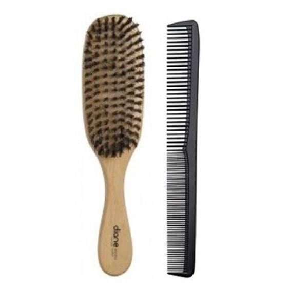 "Diane Hard Wave Brush with 7"" Comb"