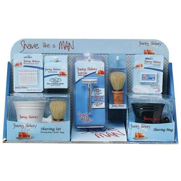 Shave Like A Man Retail Display