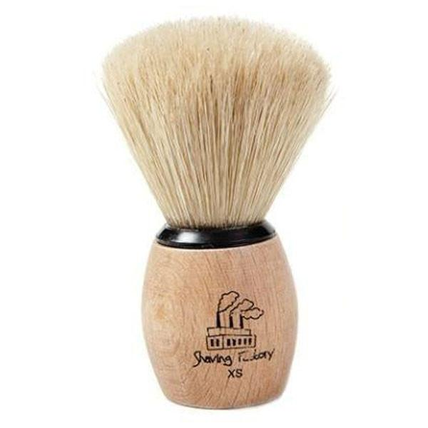 Shaving Factory XS Wooden Handle Shave Brush