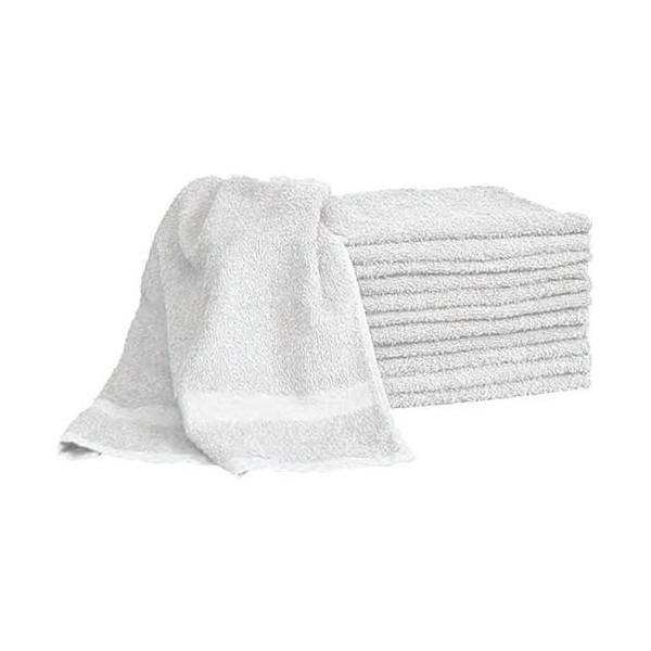 Magna Plus White Terry Towels 12pcs