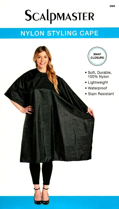 Nylon Styling Cape (Snap Closure)