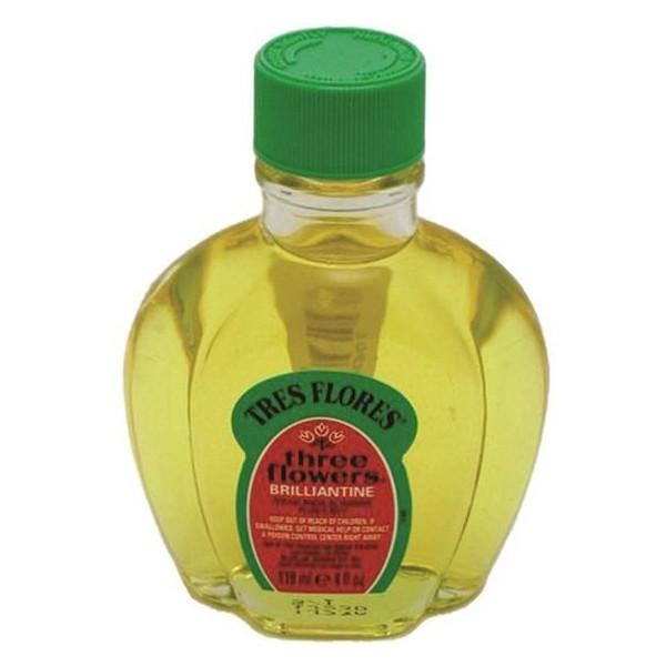 Tres Flores Brilliantine Hair Oil