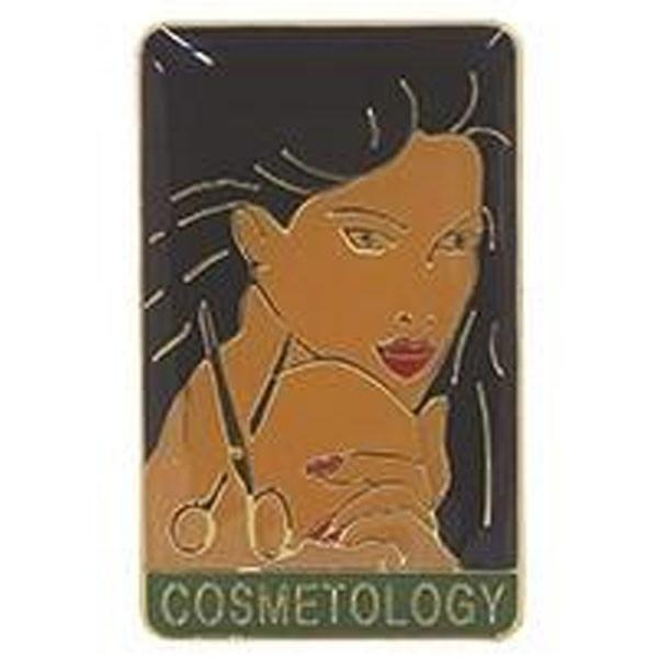 Cosmetologist Lapel Pin