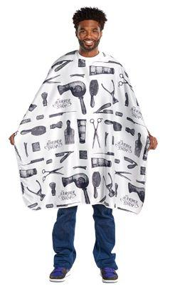 Barber Print Styling Cape