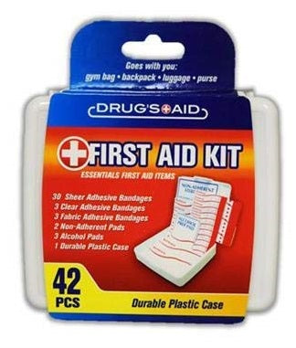 Drug's Aid First Aid Kit