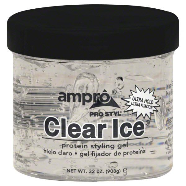 Ampro Clear Ice Styl Gels - Xcluciv Barber Supplier