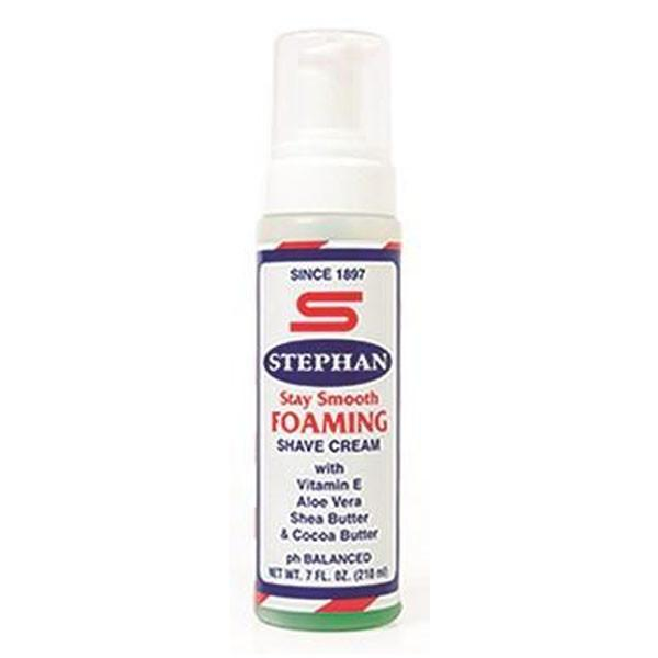 Stephan Stay Smooth Foaming Shave Cream