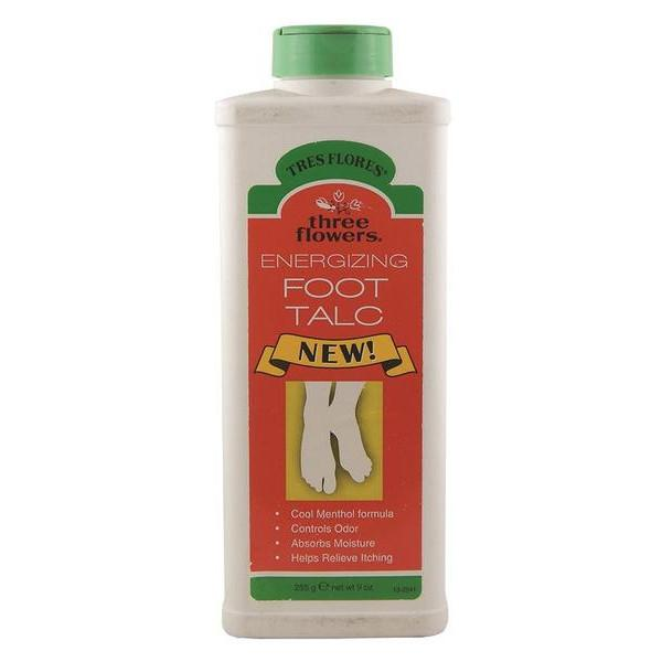 Tres Flores Foot Talc 9oz