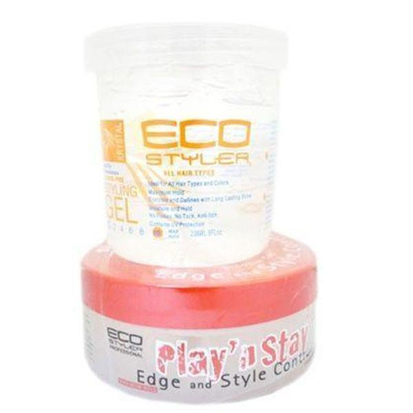 ECO Styler Krystal Clear with a FREE Seaweed Play & Stay Gel