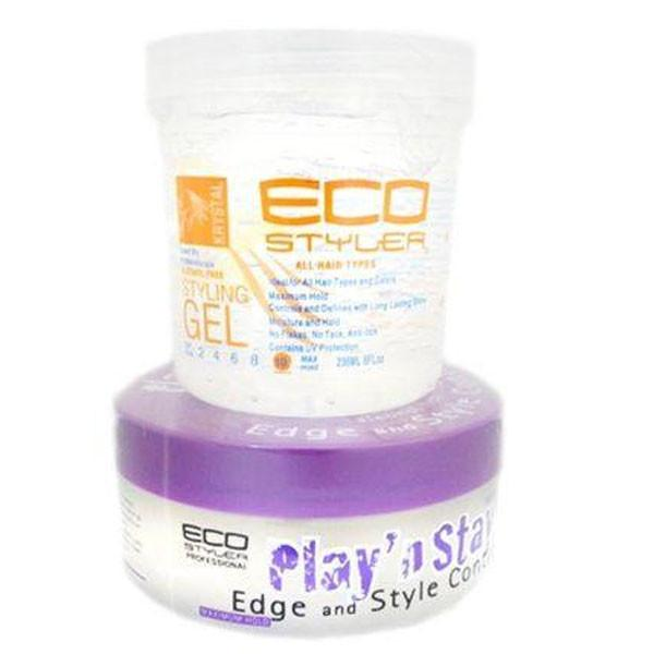 ECO Styler Krystal Clear with a FREE Super Protein Play & Stay Gel