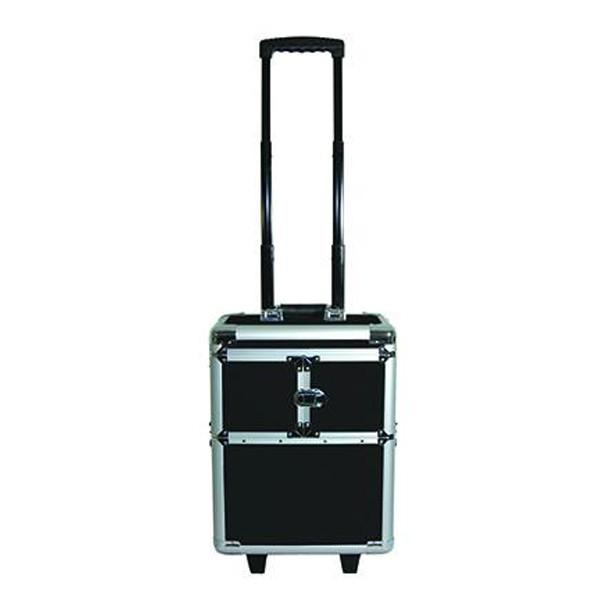 City Lights Lockable Aluminum Case on Wheels