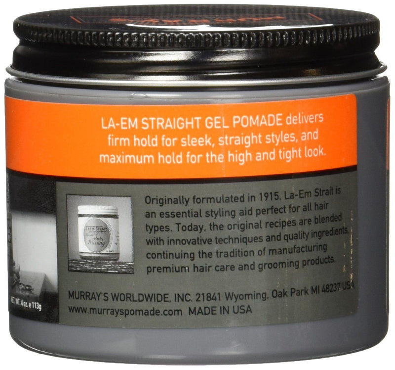 La-Em Strait Firm Hold Gel Pomade