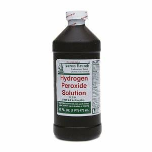Aaron Brands Hydrogen Peroxide Solution - Xcluciv Barber Supplier