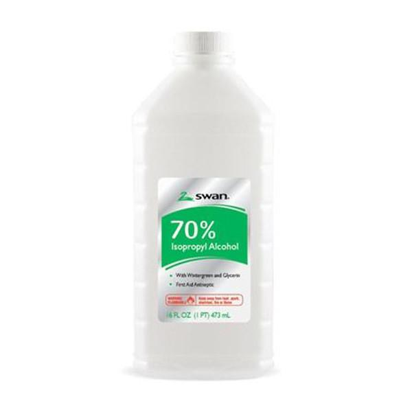 Swan 70% Green Alcohol 16oz