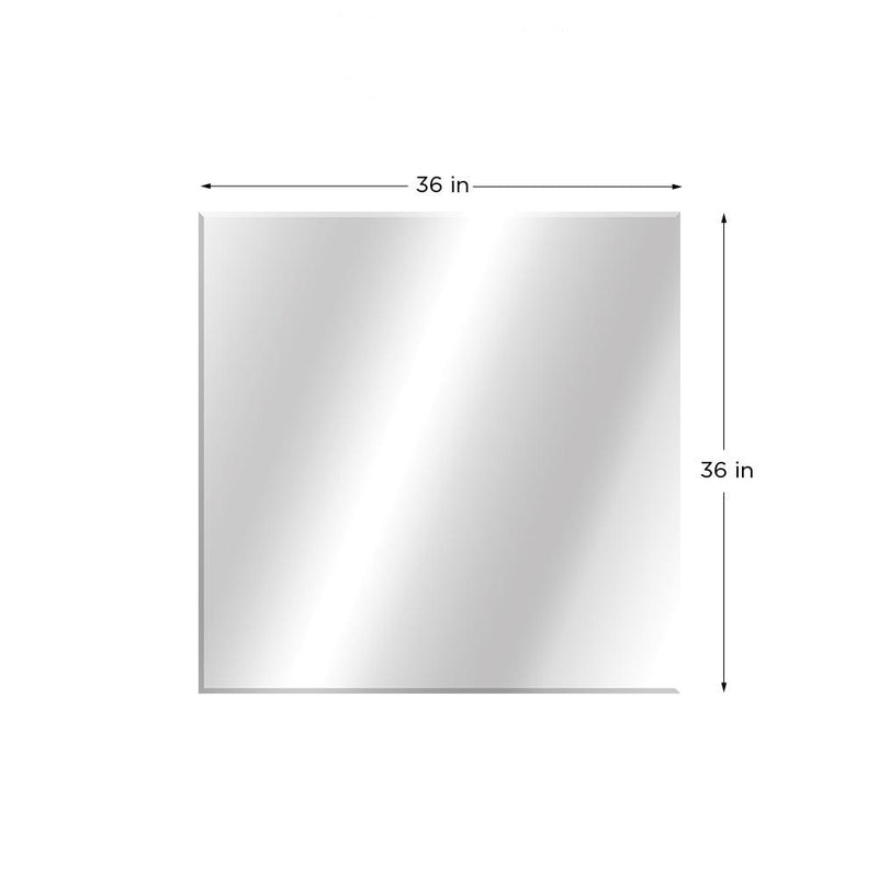 Beveled Edge Station Wall Mirror