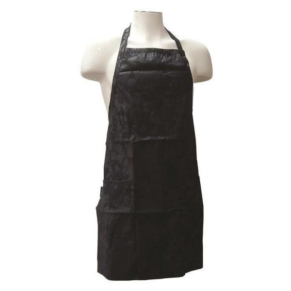 Fromm Black Collection Flower Print Apron