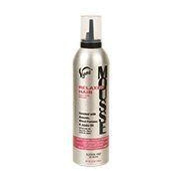 Vigorol Relaxed Hair Mousse (Pink) 12oz