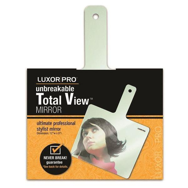LuXor Professional Unbreakable Total View Mirror