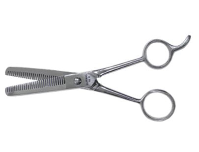 "7"" German Double Tooth Thinning Shear 30 Tooth"