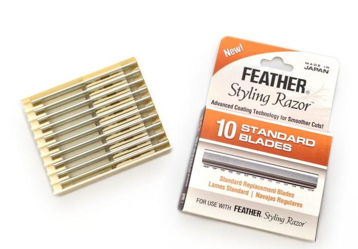 Feather Styling Razor Standard Blades