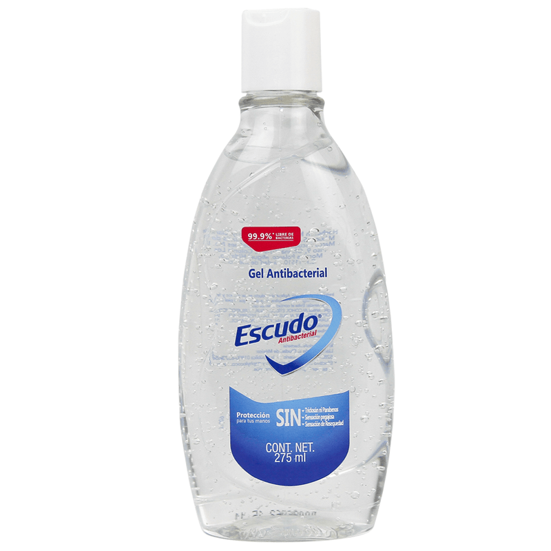 Escudo Antibacterial Hand Sanitizing Gel 275ml