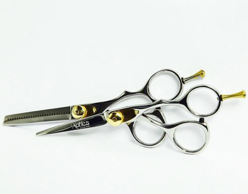 "5.5"" Stainless Steel and Gold Cobalt Shear Set"