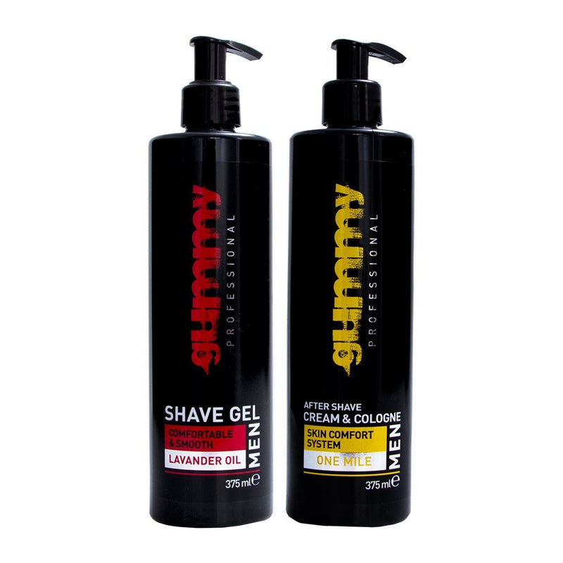Lavander Oil Shave Gel + One Mile Cream Cologne Combo 375ml