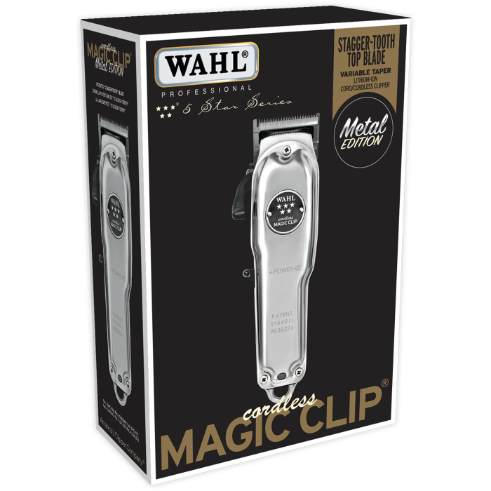 Cord/Cordless Magic Clip-Metal Edition
