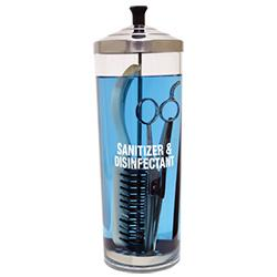 42oz Acrylic Sanitizing Jar
