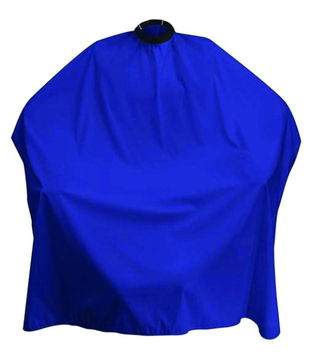 MD Nylon Barber Cloth Blue (Snap Closure)