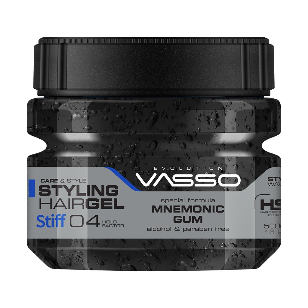Stiff Styling Hair Gel