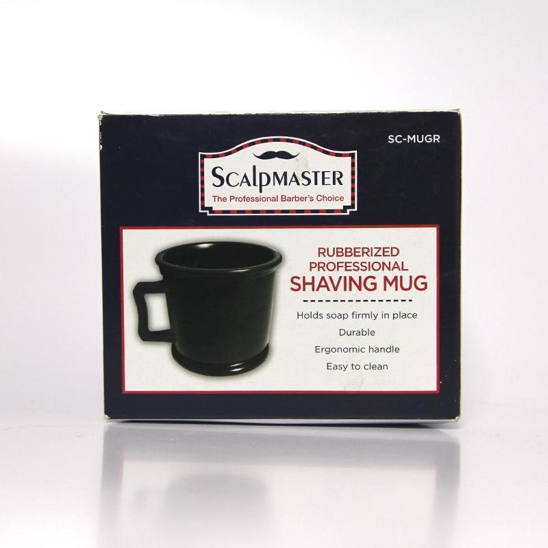 Rubberized Professional Shaving Mug