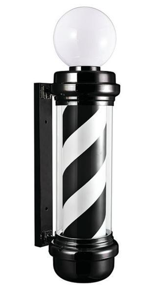 "Classic Barber Pole (8"" Cylinder)"