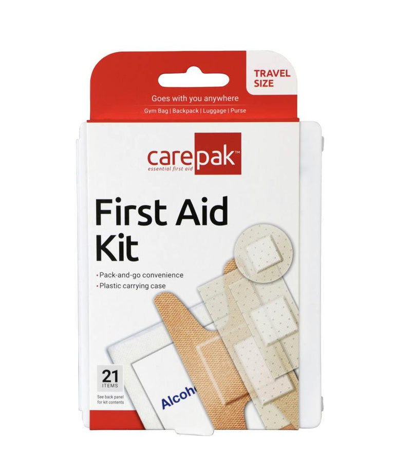 CarePak Aid First Aid Kit 21pcs