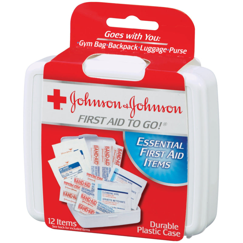 Johnson & Johnson First Aid To-Go Kit