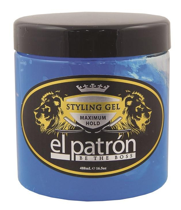 El Patrón Maximum Hold Gels