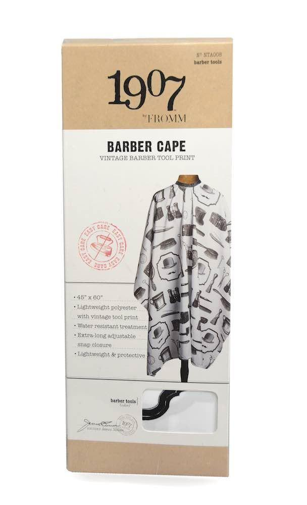 1907 Vintage Tools Barber Cape - Xcluciv Barber Supplier
