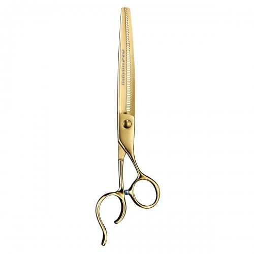 "Barberology 7"" Gold Thinning Shears"
