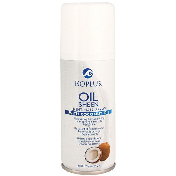 Isoplus Oil Sheen with Coconut Oil 2oz