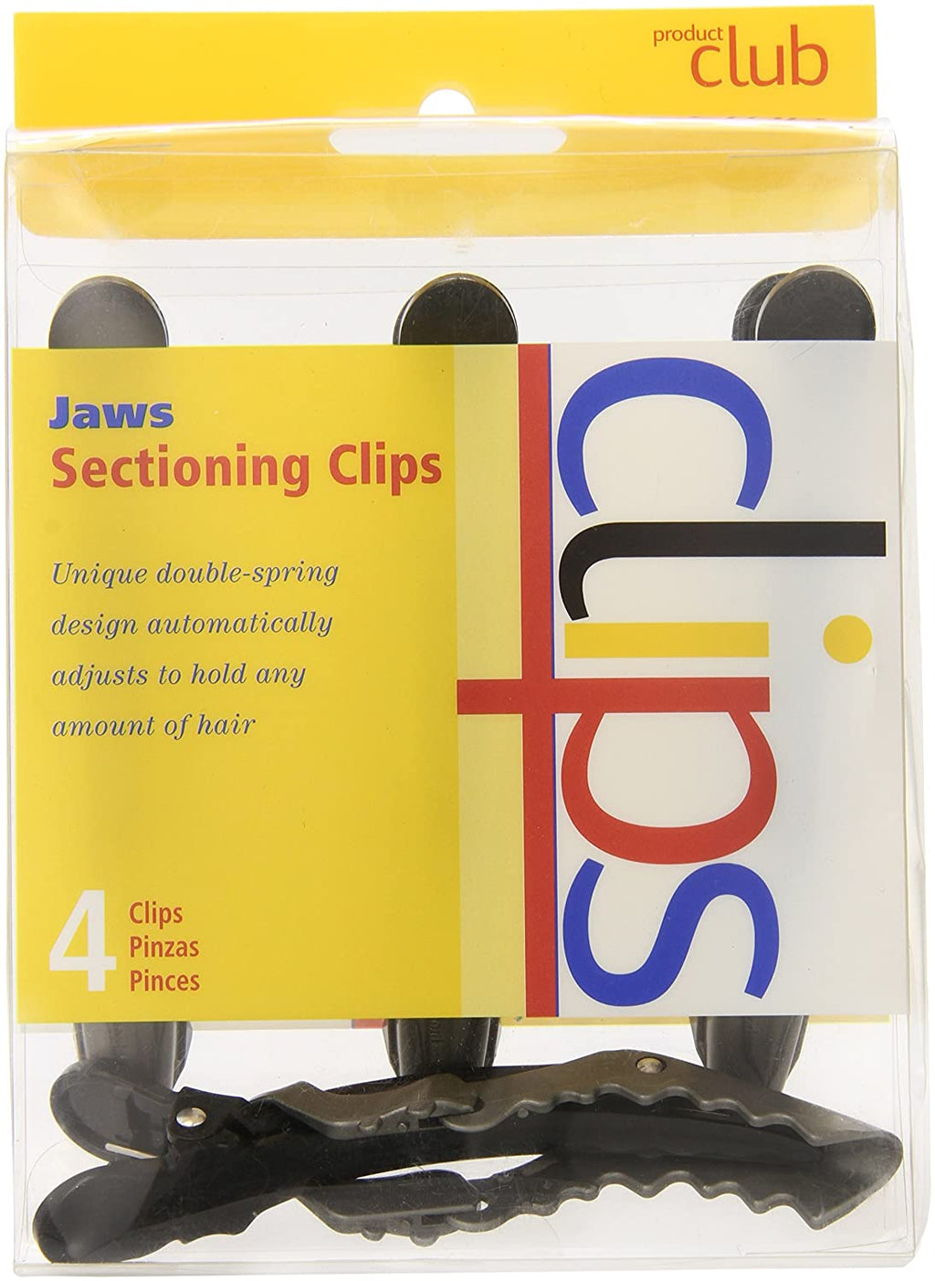 Jaws Sectioning Clips 4pc