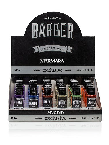 BARBER Eau De Cologne 50ml Display 36pcs