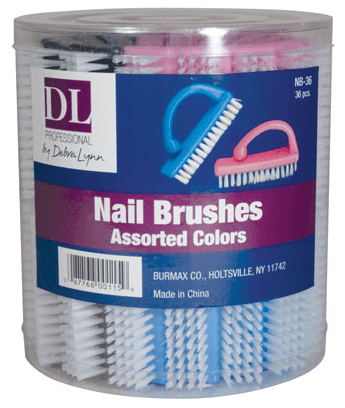 36 pc. Nail Brushes in a Container